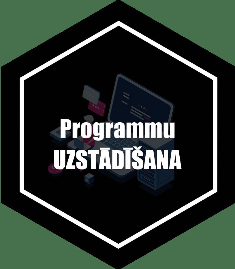 programmatūras uzstādīšana