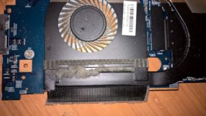 Putekļains datora ventilators